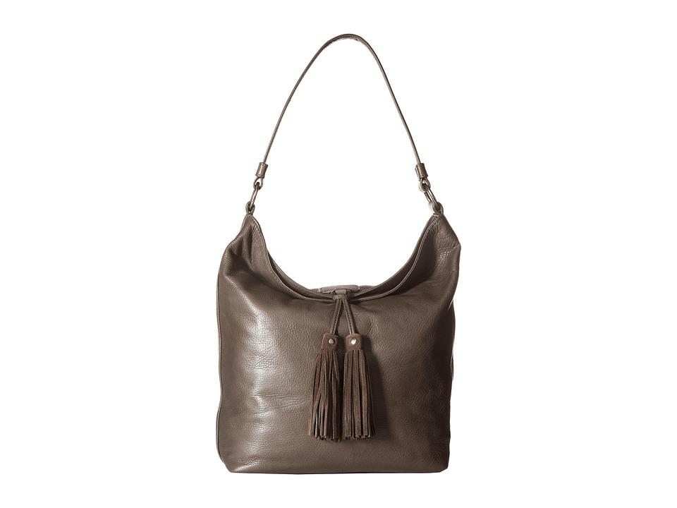 Frye - Clara Hobo (Smoke Soft Vintage Leather) Hobo Handbags