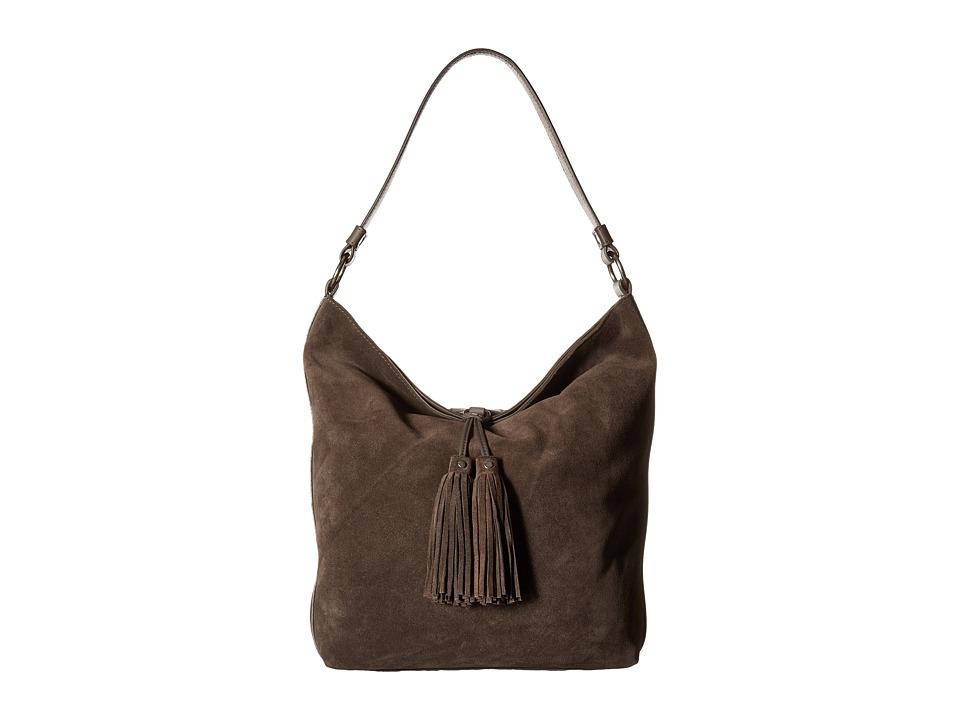 Frye - Clara Hobo (Smoke Suede) Hobo Handbags