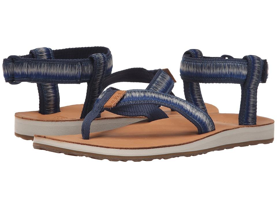 Teva Original Sandal Ombre True Blue Womens Sandals