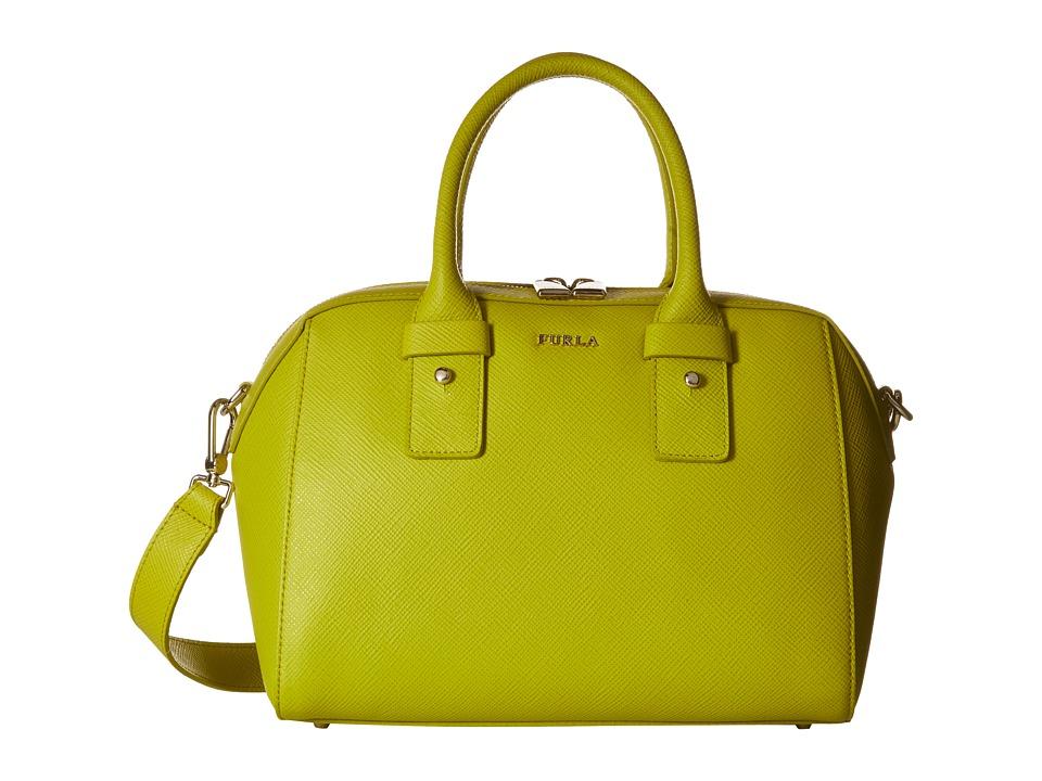Furla Allegra Small Satchel Jade Satchel Handbags
