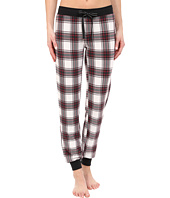 P.J. Salvage - Sealed with a Kiss Plaid Jogger