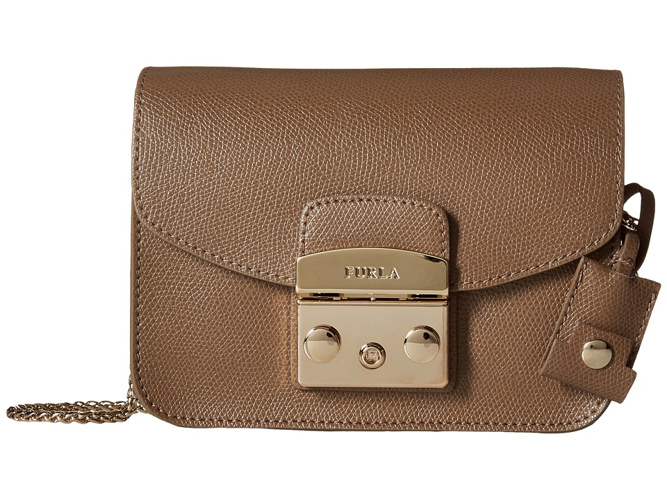 Furla - Metropolis Mini Crossbody (Daino) Cross Body Handbags