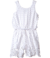 Ella Moss Girl - Alma Crochet Lace Romper (Big Kids)