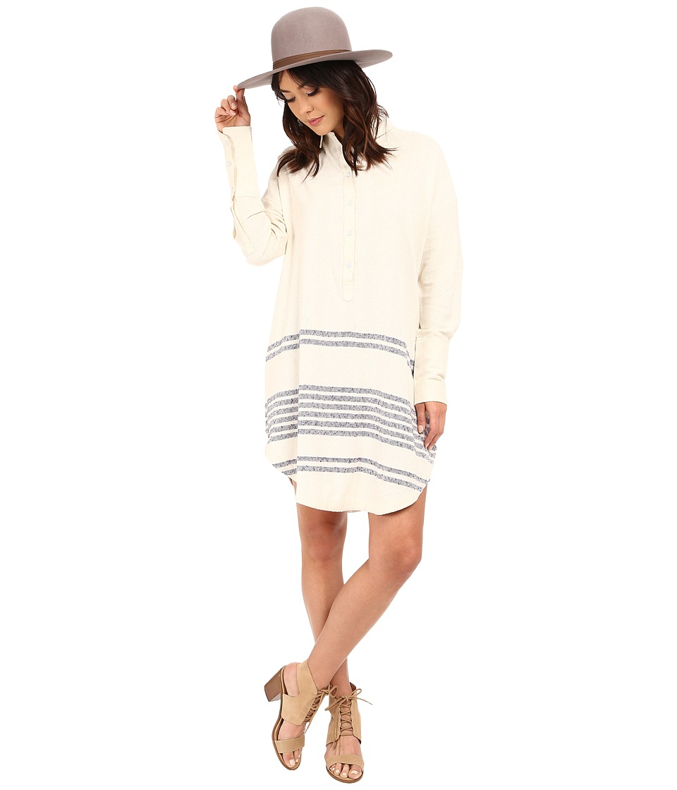 Free People Beauty Long Sleeve Top Tea Combo Womens Dress
