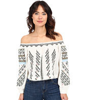 Free People - All I Need Embroidered Top