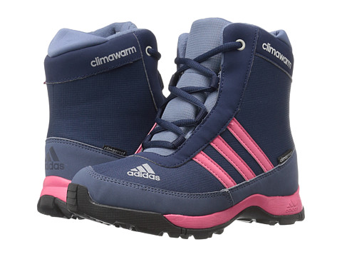 adidas Outdoor Kids CH Adisnow CP (Little Kid/Big Kid) - Collegiate Navy/Bahia Pink/Tech Ink