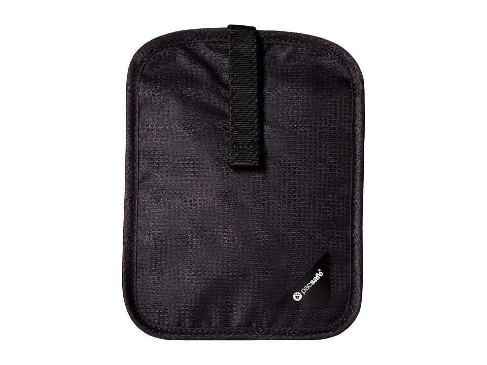Pacsafe - Coversafe V60 RFID Secret Belt Wallet (Black) Wallet Handbags