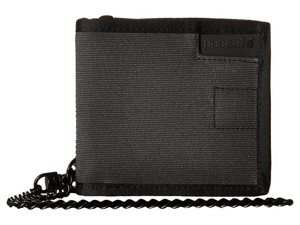 Pacsafe - RFIDsafe Z100 Bifold Wallet (Charcoal) Bi-fold Wallet