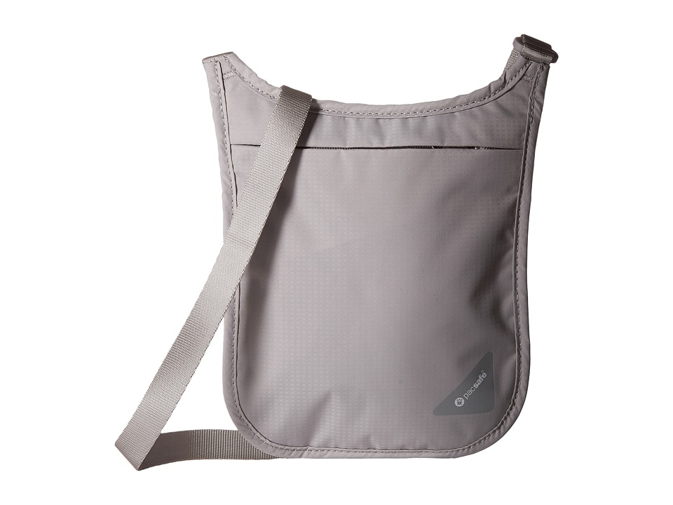 Pacsafe - Coversafe V75 RFID Neck Pouch (Grey) Travel Pouch
