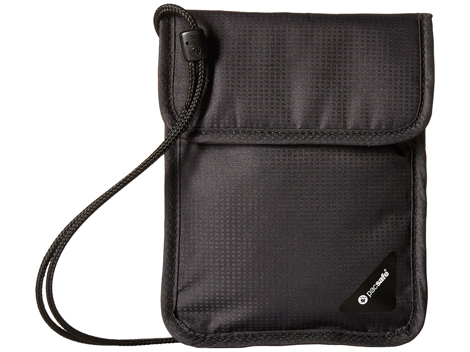 Pacsafe Coversafe X75 RFID Neck Pouch (Black) Travel Pouch