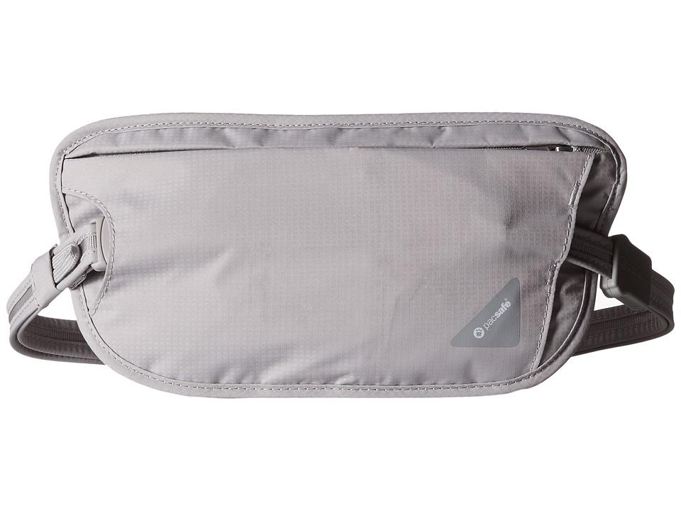 Pacsafe - Coversafe X100 RFID Waist Wallet (Grey) Wallet Handbags