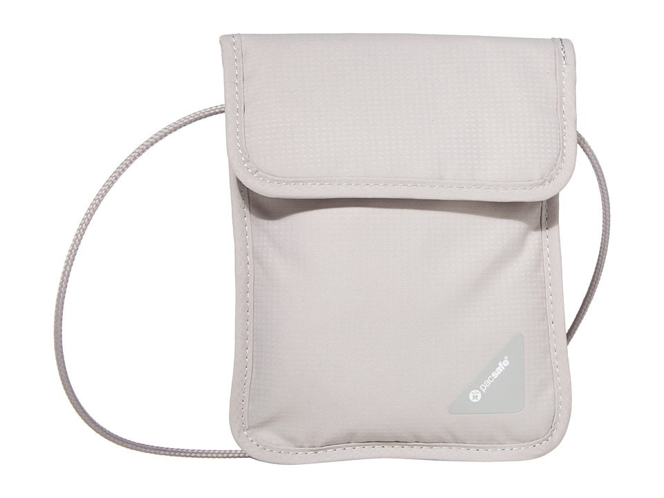 Pacsafe Coversafe X75 RFID Neck Pouch (Grey) Travel Pouch