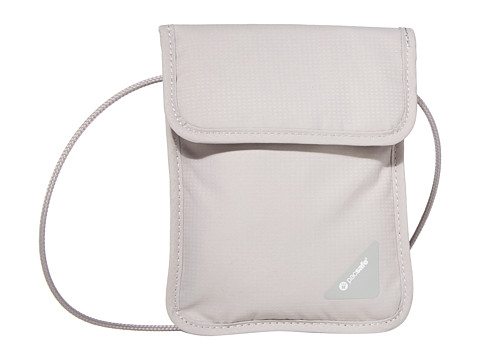 Pacsafe Coversafe X75 RFID Neck Pouch - Grey