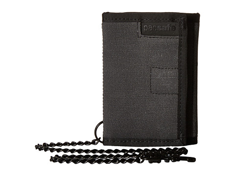 Pacsafe RFIDsafe Z50 Trifold Wallet - Charcoal