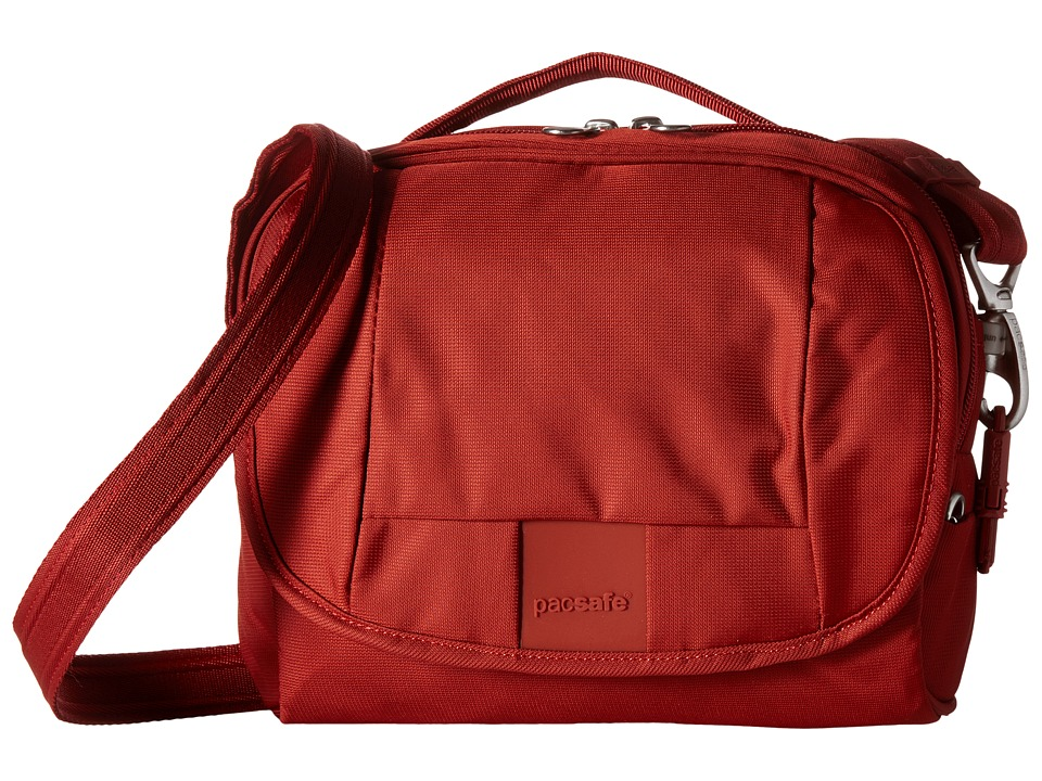 Pacsafe Metrosafe LS140 Compact Shoulder Bag (Vintage Red...