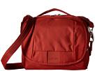 Pacsafe Metrosafe LS140 Compact Shoulder Bag (Vintage Red)