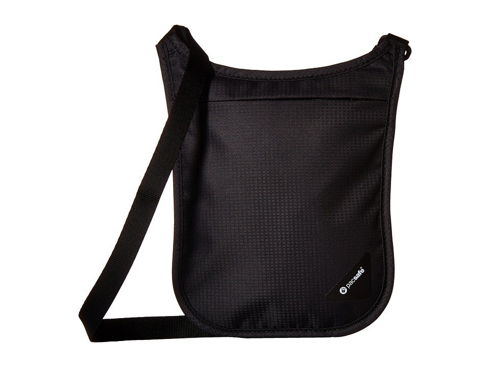 Pacsafe Coversafe V75 RFID Neck Pouch (Black) Travel Pouch
