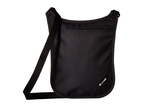 Pacsafe Coversafe V75 RFID Neck Pouch - Black