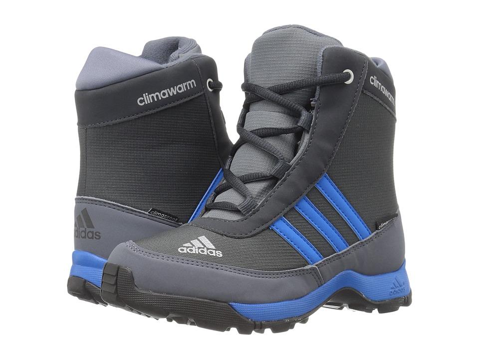adidas Outdoor Kids CH Adisnow CP (Little Kid/Big Kid) (Dark Grey/Shock Blue/Onix) Boys Shoes