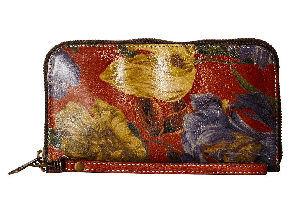 Patricia Nash Biscay All Around Enlightened Garden Wallet Handbags