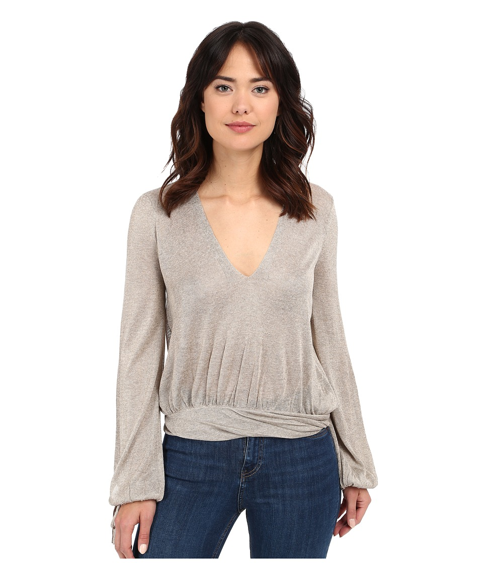 Free People - Rock Steady Pullover (Wheat) Women