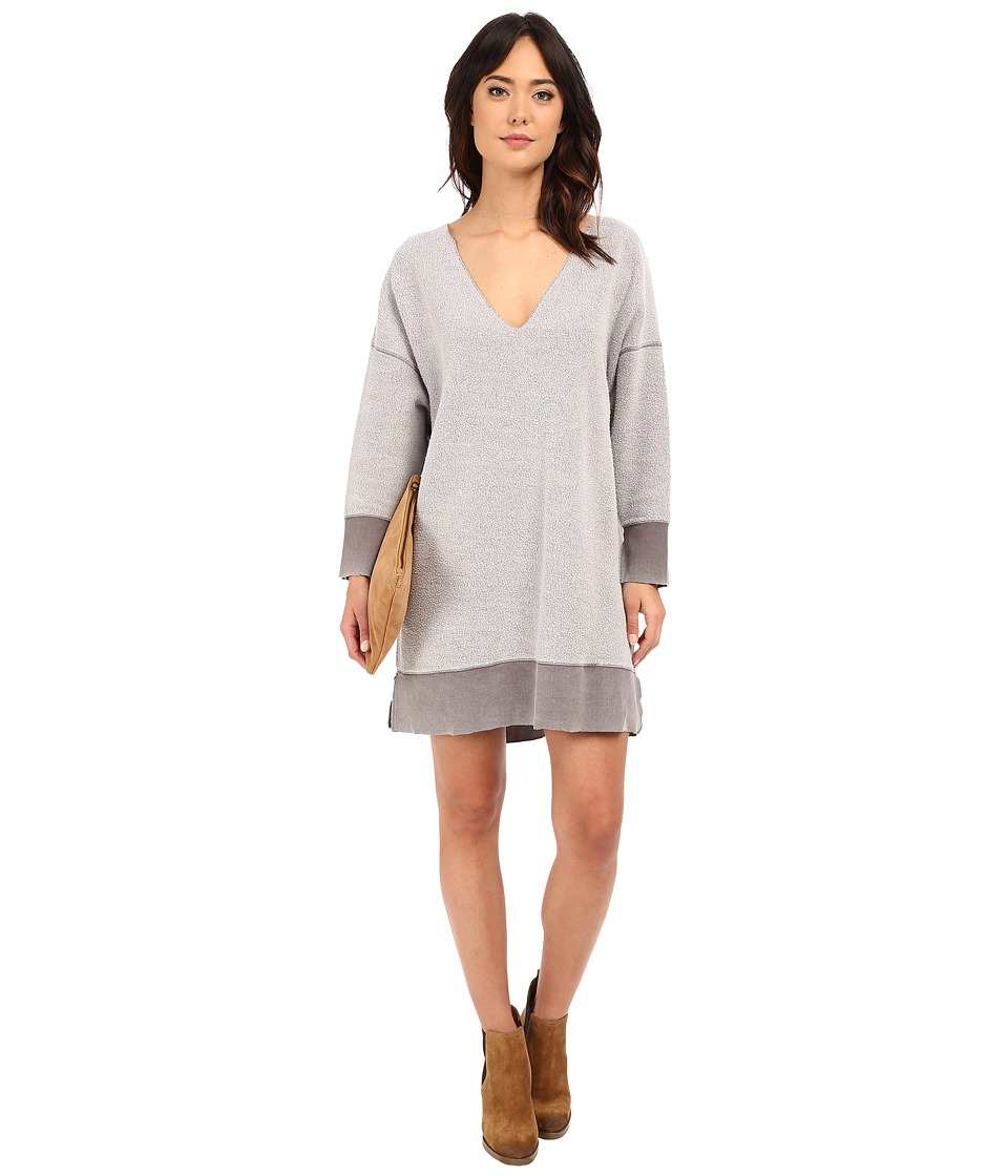 Free People All About Pullover Moonstone Womens Dress