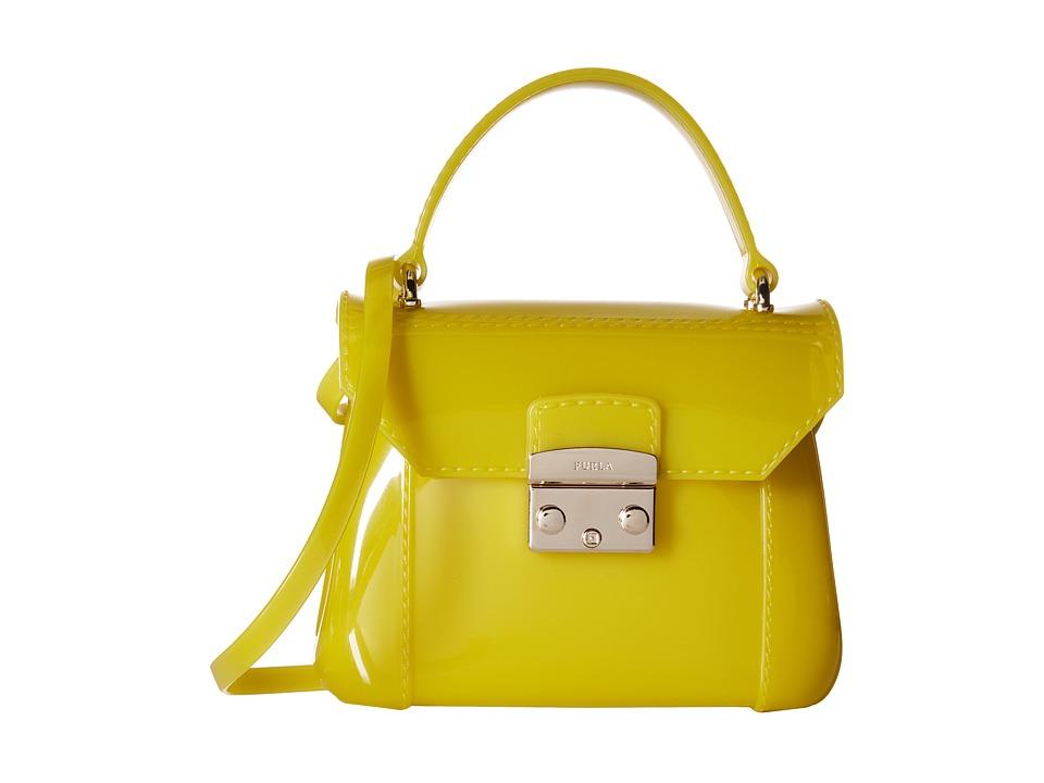 Furla Candy Bon Bon Mini Crossbody Jade Cross Body Handbags