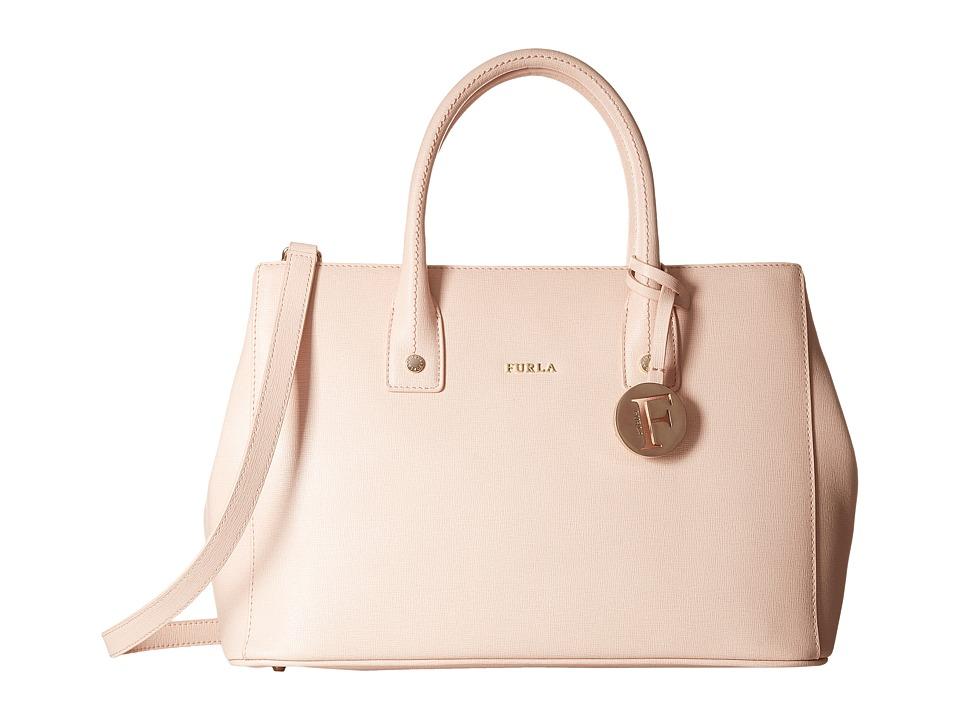 Furla - Linda Small Tote C/Tracolla (Magnolia) Satchel Handbags