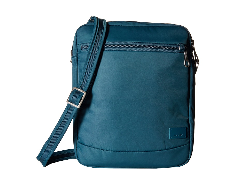 Pacsafe - Citysafe CS150 Anti-Theft Crossbody Shoulder Bag (Teal) Cross Body Handbags