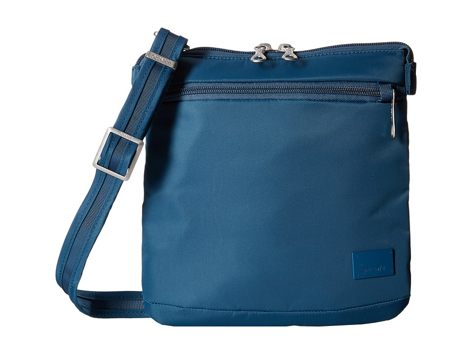 Pacsafe - Citysafe CS50 Anti-Theft Crossbody Purse (Teal) Cross Body Handbags