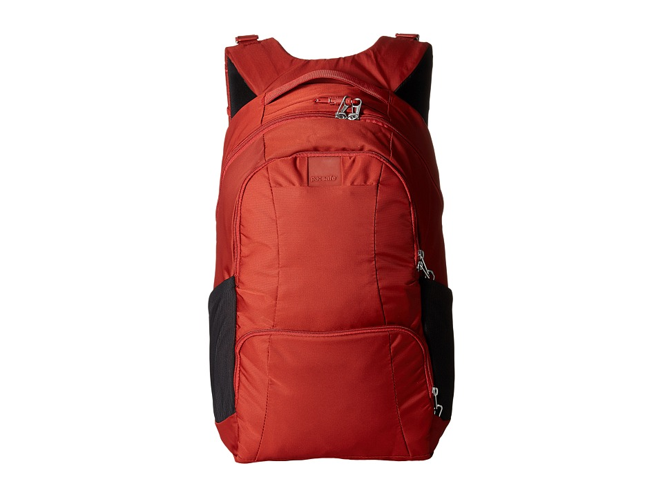 Pacsafe - Metrosafe LS450 25L Backpack (Vintage Red) Backpack Bags