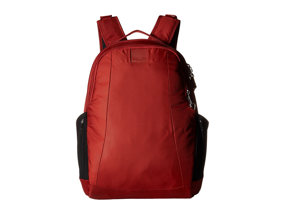Pacsafe - Metrosafe LS350 15L Backpack (Vintage Red) Backpack Bags