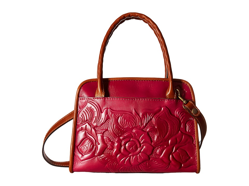 Patricia Nash - Paris Satchel (Raspberry) Satchel Handbags