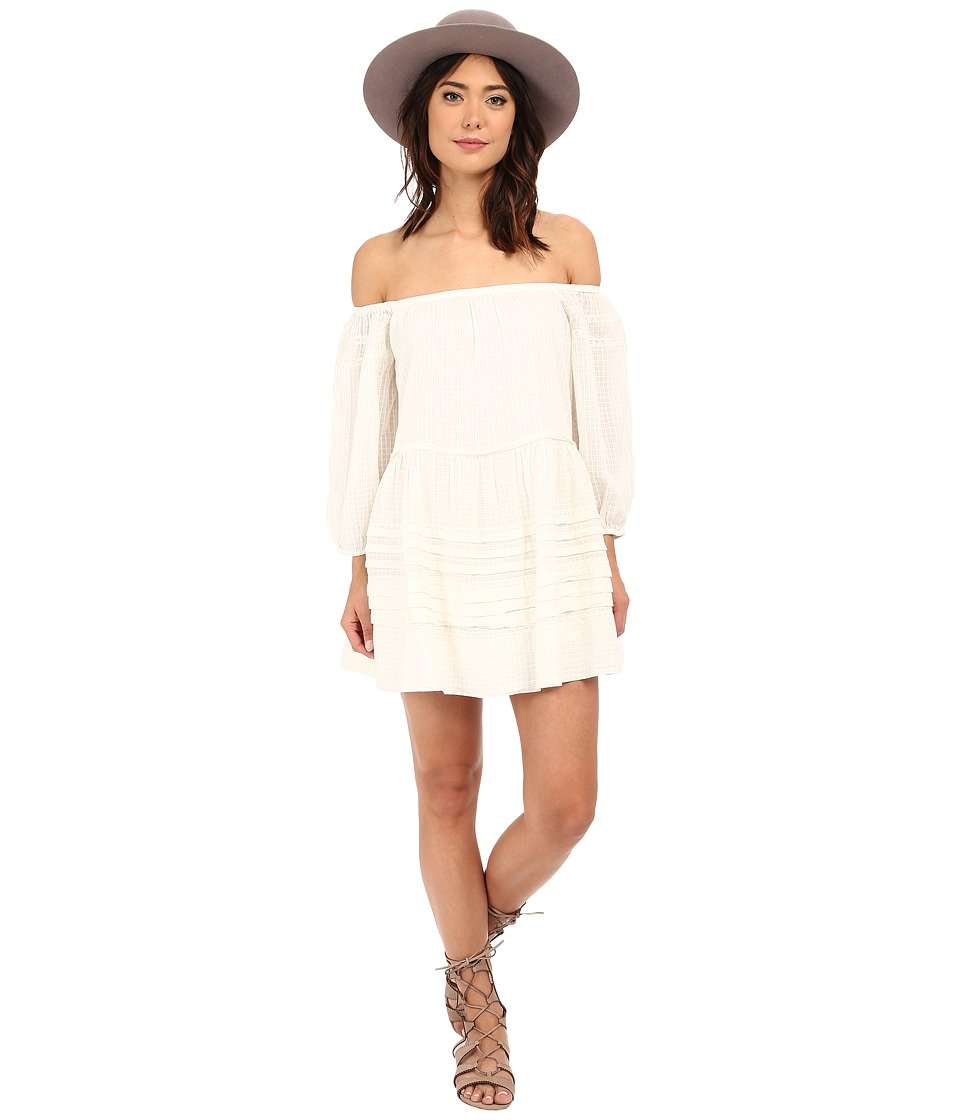 Free People Candy Shop Mini Dress Ivory Womens Dress