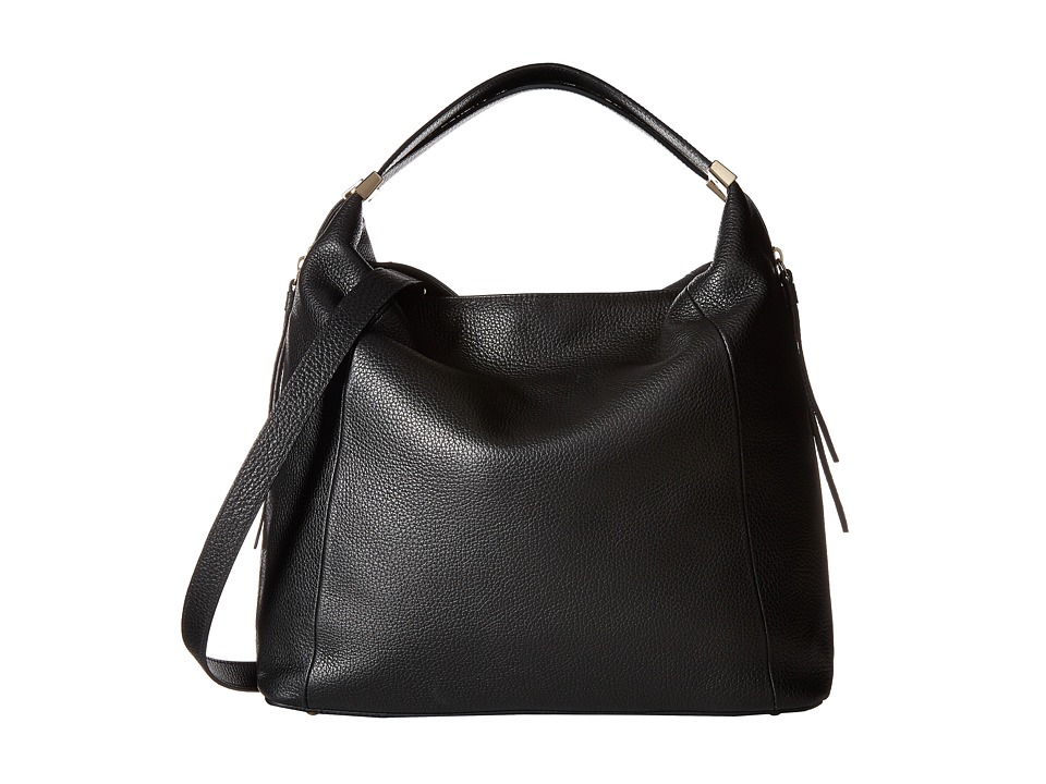 Furla - Liz Medium Hobo C/Tracolla (Onyx/Chalk) Hobo Handbags