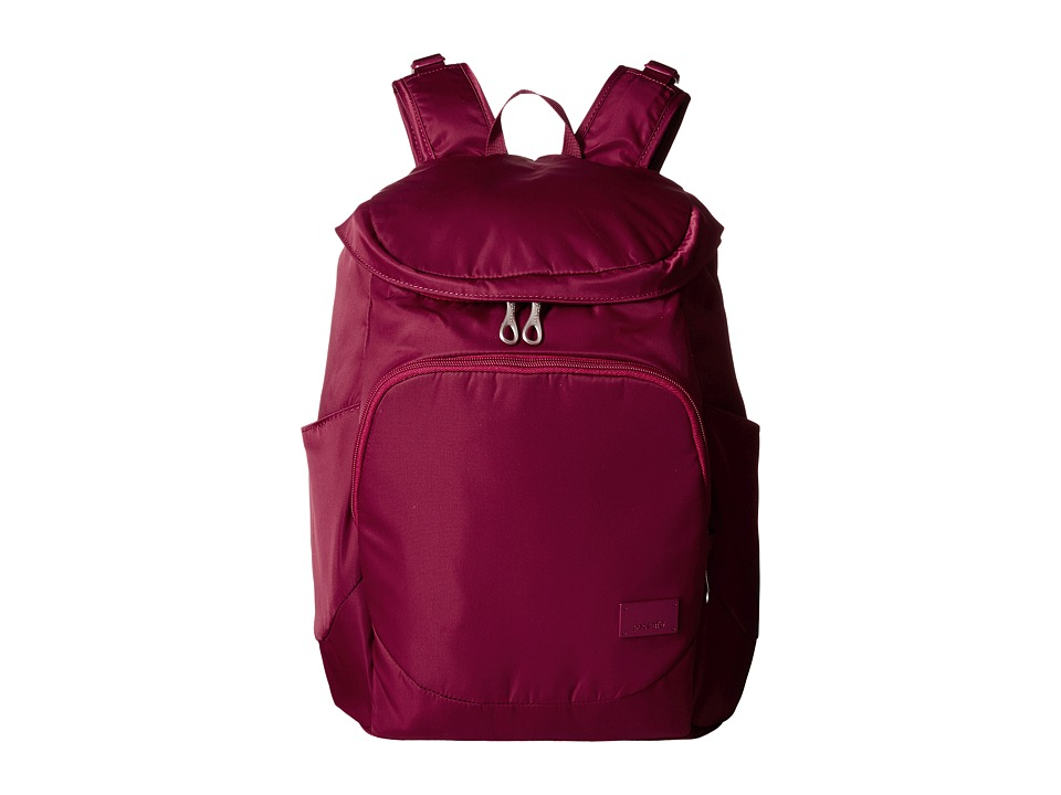 Pacsafe - Citysafe CS350 Backpack (Cranberry) Backpack Bags