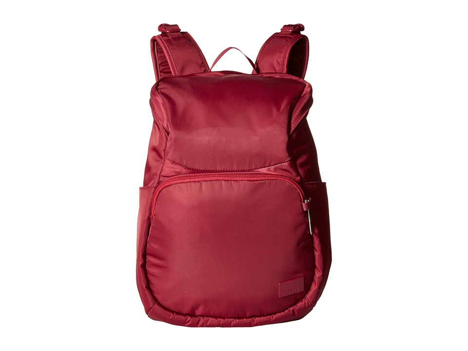 Pacsafe - Citysafe CS300 Compact Backpack (Cranberry) Backpack Bags