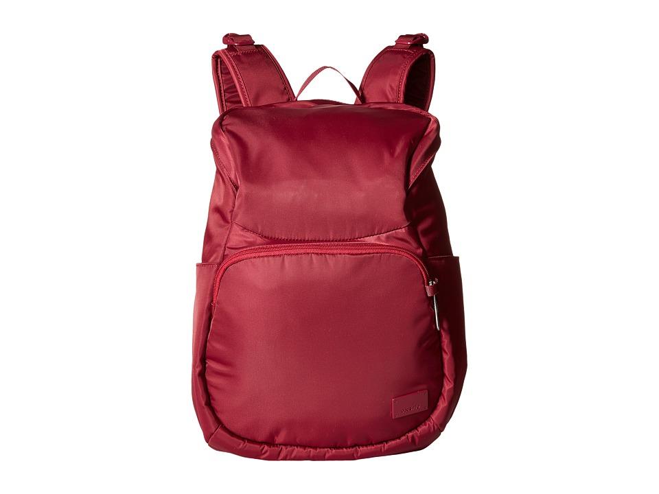 Pacsafe Citysafe CS300 Compact Backpack (Cranberry) Backp...