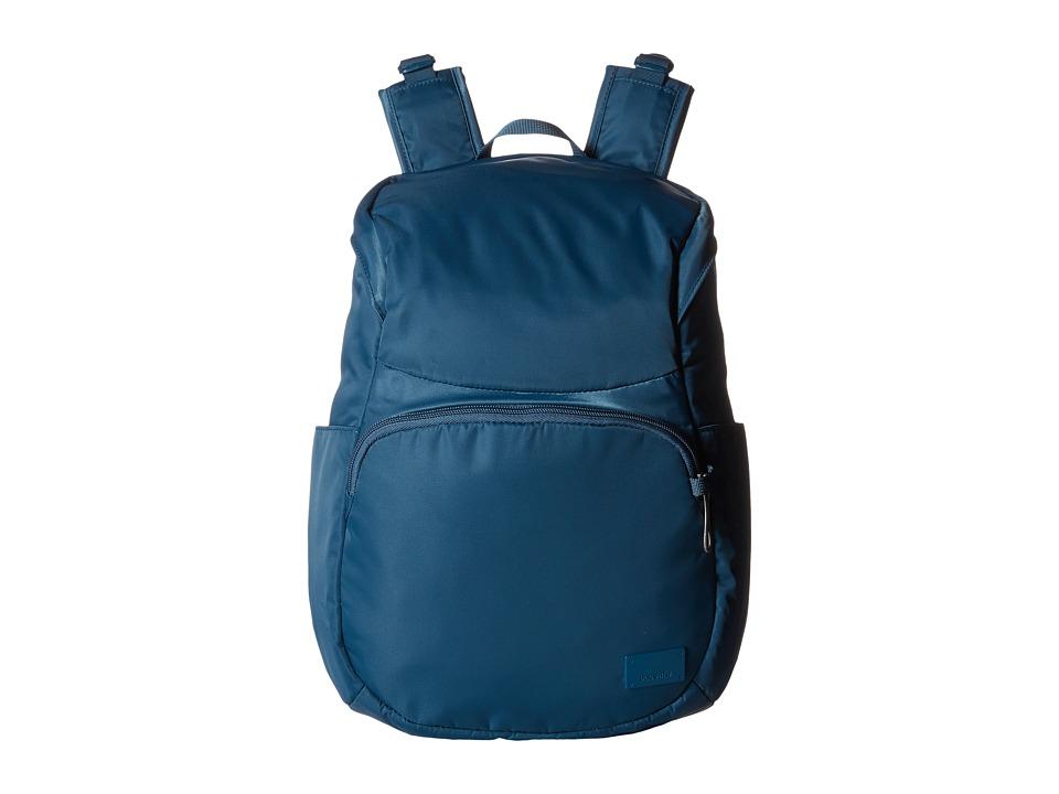 Pacsafe - Citysafe CS300 Compact Backpack (Teal) Backpack Bags