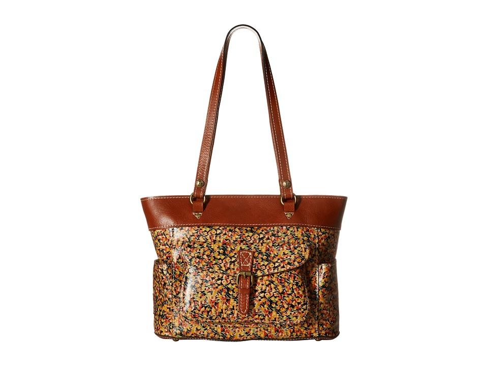 Patricia Nash Bolsena Zip Top Tote Mini Bloom Tote Handbags