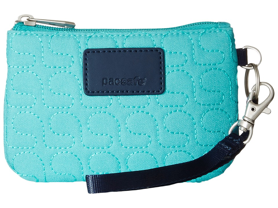 Pacsafe RFIDsafe W50 RFID Coin Card Purse Lagoon Coin Purse