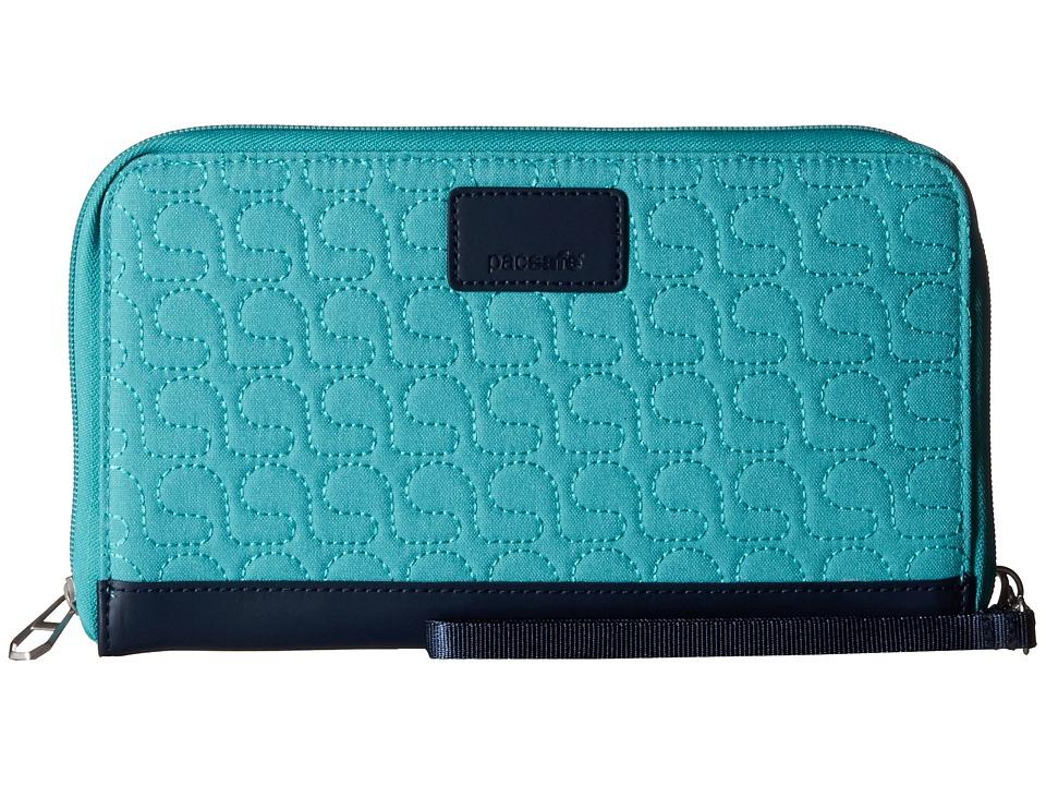 Pacsafe - RFIDsafe W250 RFID Travel Organizer (Lagoon) Wallet