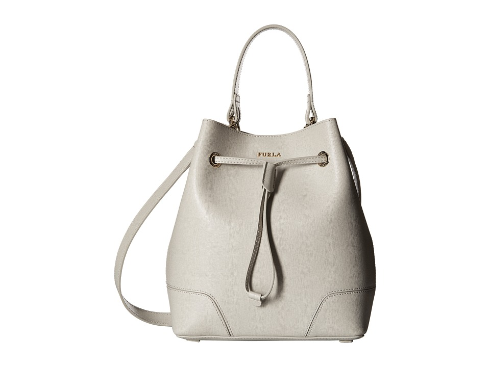 Furla - Stacy Small Drawstring (Marmo) Drawstring Handbags