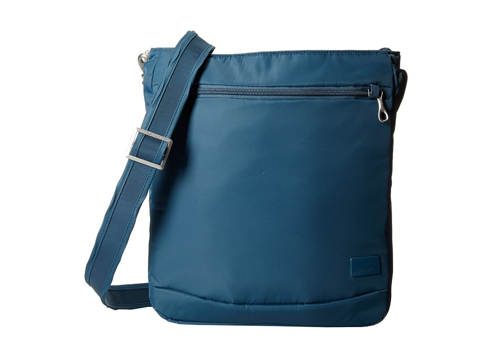 Pacsafe - Citysafe CS175 Shoulder Bag (Teal) Shoulder Handbags