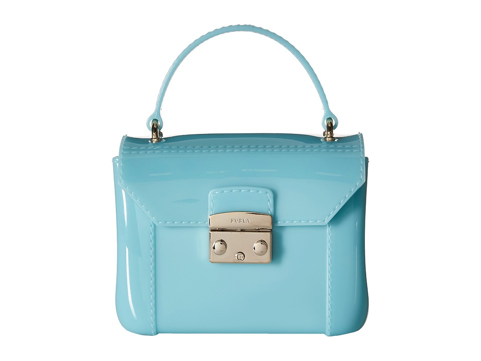 Furla - Candy Bon Bon Mini Crossbody (Acquamarina) Cross Body Handbags