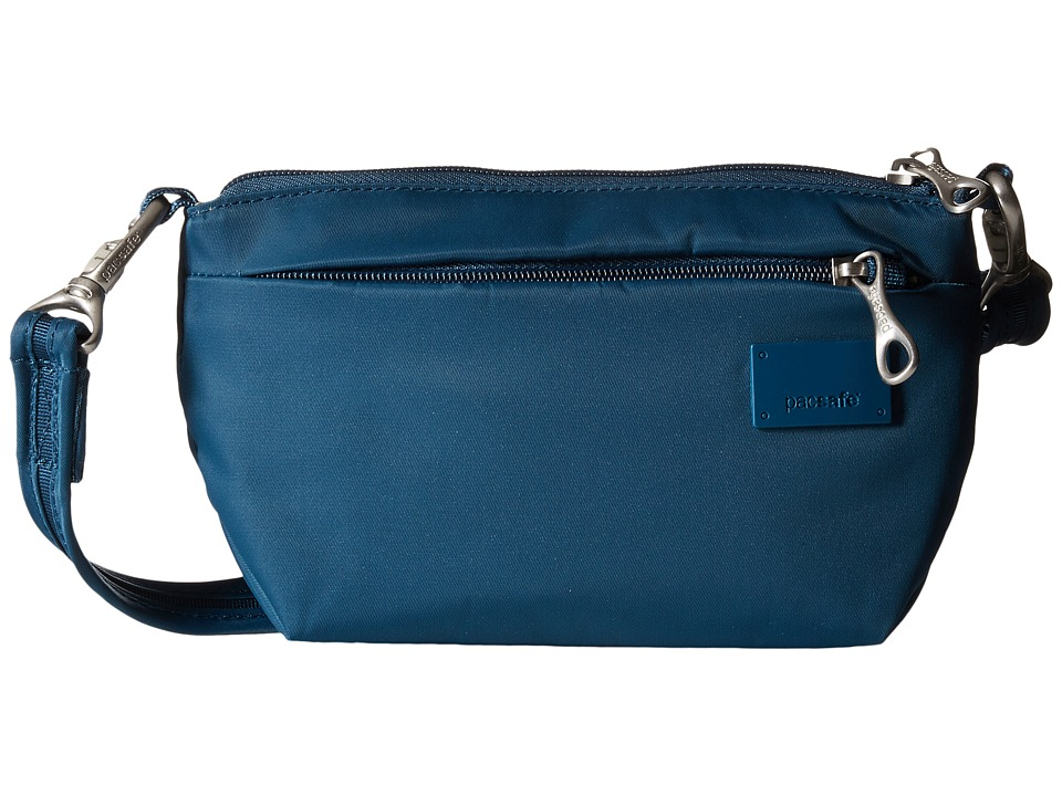 Pacsafe - Citysafe CS25 Crossbody Hip Purse (Teal) Cross Body Handbags
