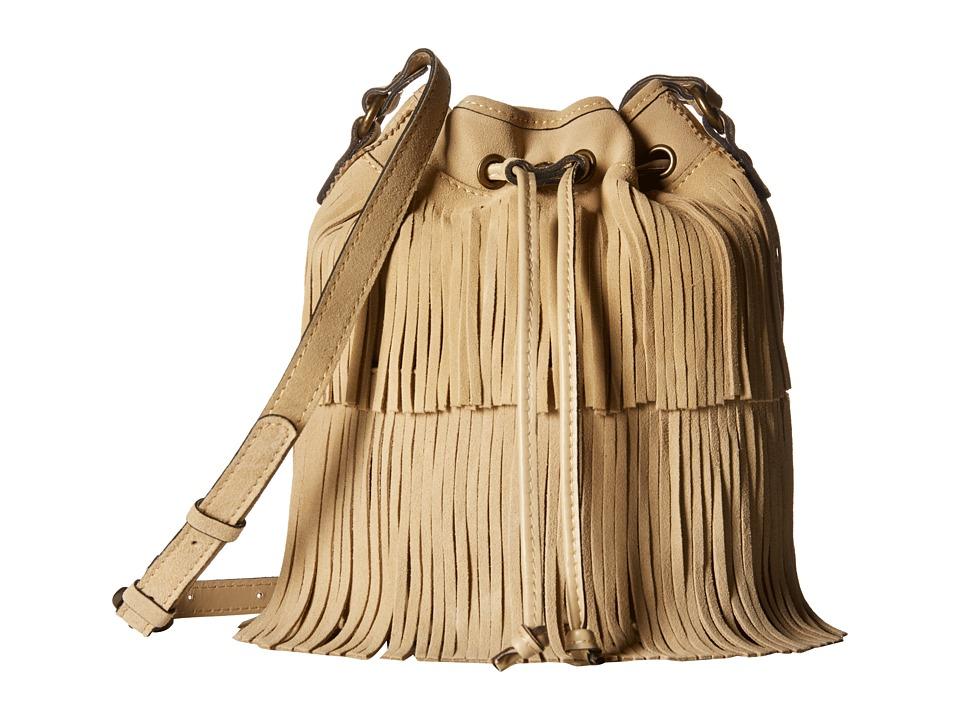 Patricia Nash Bronte Bucket Sand Handbags