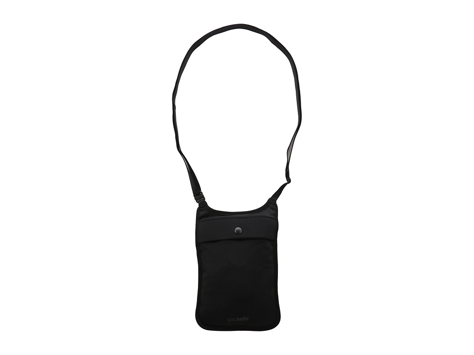 Pacsafe - Coversafe S75 Secret Neck Pouch (Black) Travel Pouch