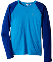Lacoste Kids - Long Sleeve Baseball Tee Shirt (Infant/Toddler/Little Kids/Big Kids)