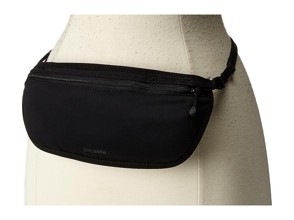 Pacsafe Coversafe S100 Secret Waist Band Black Wallet Handbags